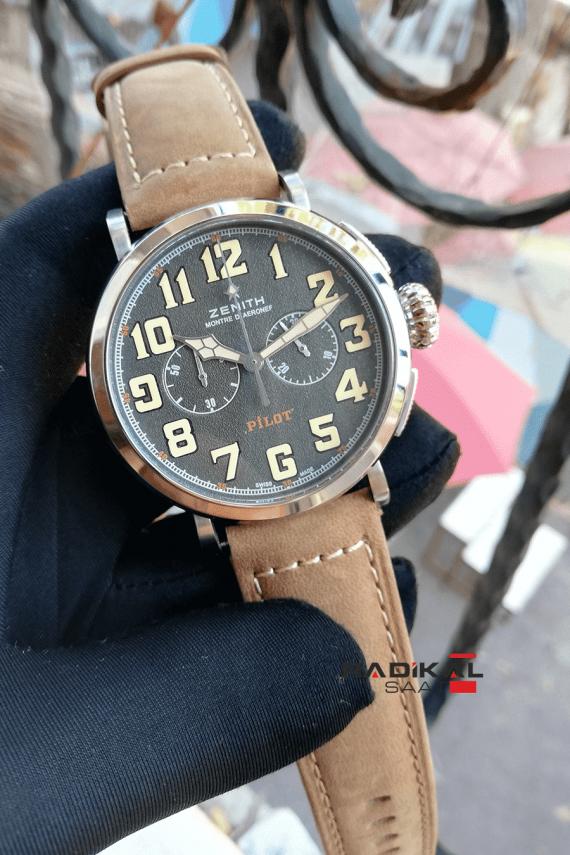 Zenith Pilot Montre D'Aeronef Chronograph