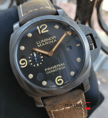 Panerai Luminor Marina Carbotech Replika Erkek Saati