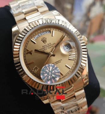 Rolex Day Date Gold Kasa Automatic Mekanizma Erkek Kol Saati