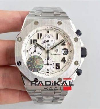 Audemars Piguet Royal Oak Offshore Serisi 25721ST Swiss Eta 7750 kronograf mekanizma