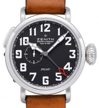 Zenith Pilot serisi 03.2430.693 / 21.C723 Swiss Eta Kusursuz Kalite