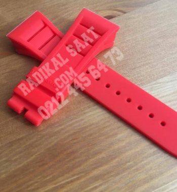 Richard Mille Kırmızı Saat Kordonu