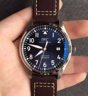 IWC Pilot serisi IW327004 Swiss Eta otomatik mekanizma 40 mm