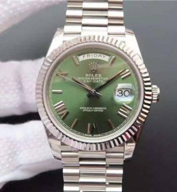 Rolex Day-Date II Green Swiss Eta Saat