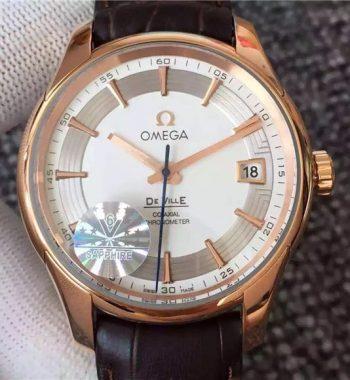 Omega De Ville 43163 18k altın 8500 Swiss Eta otomatik Hareket