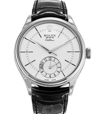 Rolex Cellini 50529 39mm Dual Time