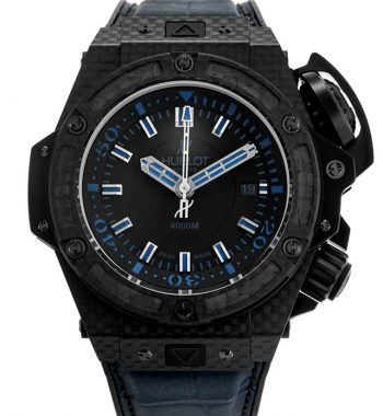Hublot King Power serisi 731.QX.1190.GR.ABB12 Gerçek Karbon FiberKasa 48mm