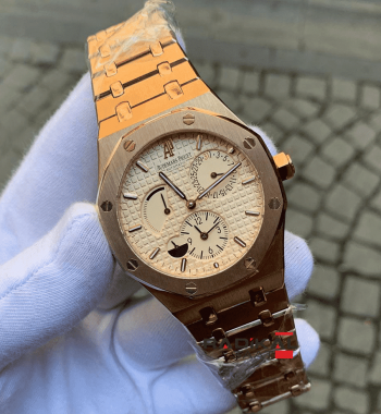 Audemars Piguet Royal Oak Automatic Mekanizma Rose Kasa Replika Erkek Kol Saati