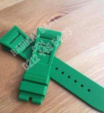 Richard Mille Yeşil Saat Kordonu