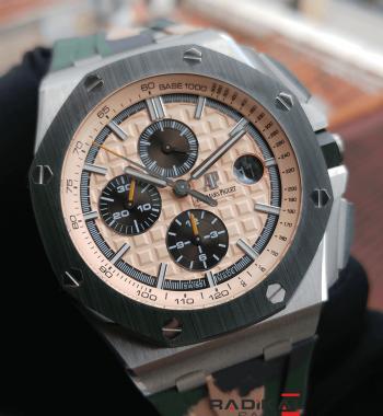 b5914a8cee4 Swiss Eta- Audemars Piguet Royal Oak Offshore Chronograph Combat 2018