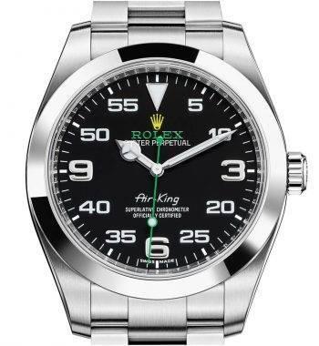 Rolex  AirKing 116900 İsviçre Swiss Eta 3131 Mekanizma