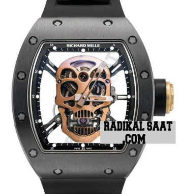 Richard Mille RM 052 Skull PVD Skeleton Dial-Rose