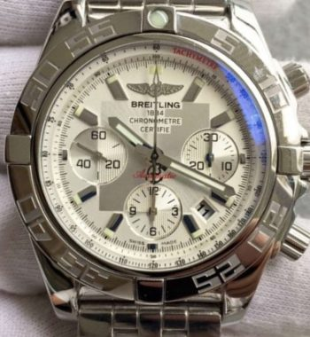 Breitling for Bentley chronograph Beyaz Kadran Swiss Eta 7750 Mekanizma