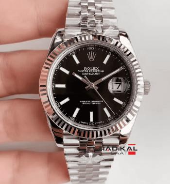 Rolex Datejust II 126334 Siyah Kadran 1:1 Super Clone 3235 ETA