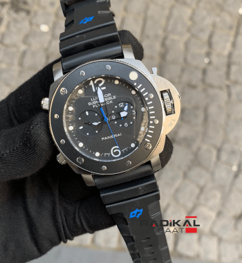 Panerai Luminor Submersible Flyback Replika Erkek Kol Saati