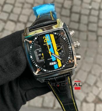 Tag Heuer Monaco Kronograf Quartz Mekanizma Replika Erkek Kol Saati