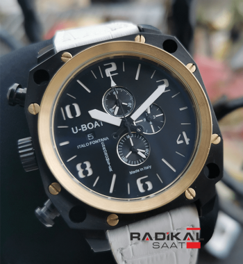 U-Boat Thousands Of Feet Chronograph PVD Kasa Replika Erkek Kol Saati