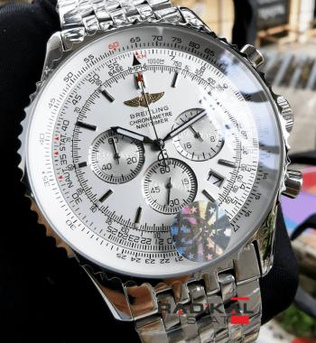 Breitling Navitimer 1884 Chronometre Beyaz Kadran Replika Saat