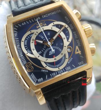 Replika İnvicta Saat-İnvicta S1 Mavi Kadran Chronograph Mekanizma Erkek Kol Saati