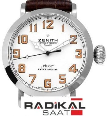 Zenith Pilot Type 20 Extra Special  Beyaz Kadran