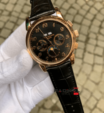 Patek Philippe Grand Complications Rose Kasa Replika Erkek Kol Saati