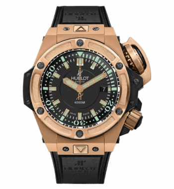 Hublot Hublot King Power serisi 731.OX.1170.RX OŞİNOGRAFİK