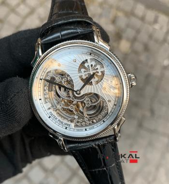 Patek Philippe İskelet Kadran Otomatik Mekanizma Replika Erkek Kol Saati