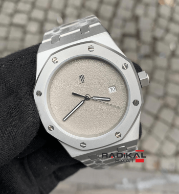 Audemars Piguet Royal Oak 44mm Gri Kadran  Replika Erkek Kol Saati