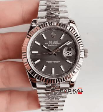 Rolex Datejust II 126334 Gri Kadran 1:1 Super Clone 3235 ETA