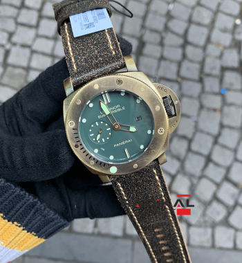 Panerai Luminor Submersible Eskitme Kasa Replika Erkek Kol Saati