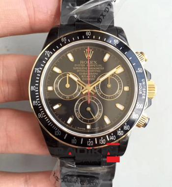 Replika Swiss ETA Rolex Lenny Kravıtz LK01 ROLEX DAYTONA İsviçre 4130 Mekanizma