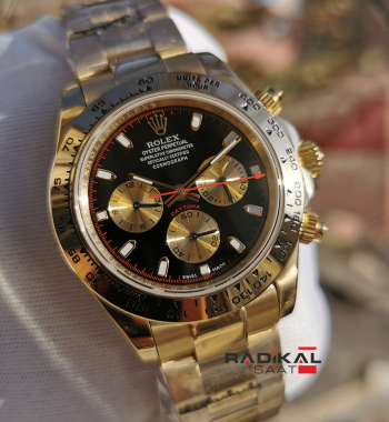 Rolex Daytona Cosmograph Rose Kasa Replika Erkek Kol Saati