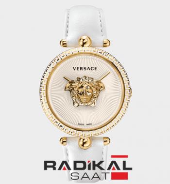 Replika-THE Versace White Dial Strap Bayan Kol Saati AAA Kalite