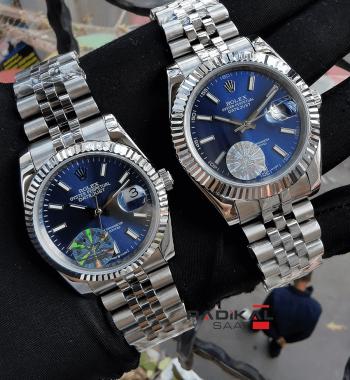 Rolex Datejust 41-36 MM Bay Bayan Kombin Kol Saati