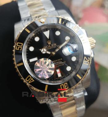 Rolex Submariner Siyah Kadran Replika Erkek Kol Saati