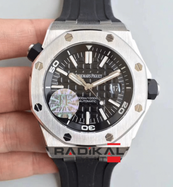 Replika Swiss ETA V8 Kasa AP Royal Oak İsviçre 3120 Mekanizma