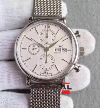 Replika Swiss ETA IWC Portofino Chronograph 7750 İsviçre Mekanizma