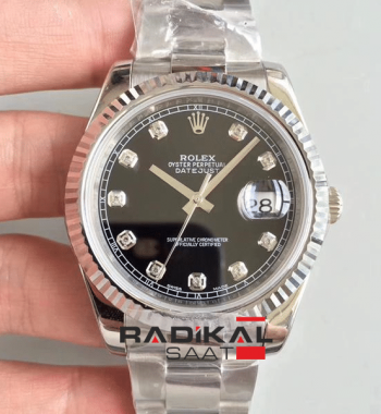 Replika Swiss ETA 2017 ROLEX DATEJUST 41MM İsviçre 3235 Mekanizma