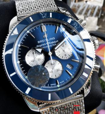 Breitling Superocean Chronograph Mavi Kadran