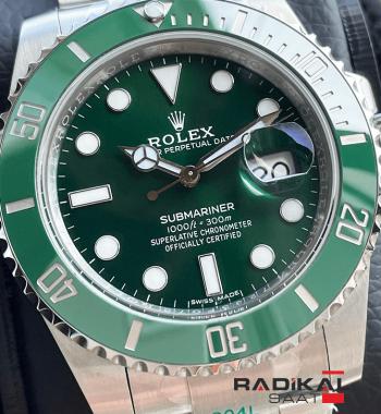Rolex Submariner Hulk ZF Factory V11 3135 1.1 Clone ETA