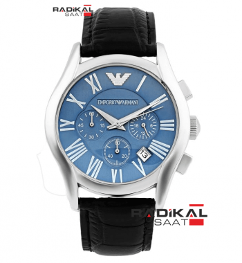 Emporio Armani Chronograph BLUE Erkek Kol Saati