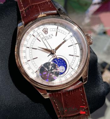 Rolex Cellini Moonphase Gece Ve Güzdüz Replika Erkek Kol Saati