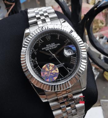 Rolex Datejust Jubile Kordon Roma Rakamlı 41 mm Replika Erkek Kol Saati