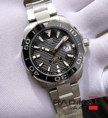 Tag Heuer Aquaracer Calibre 5 Automatic Stainless Steel Black Dial Swiss