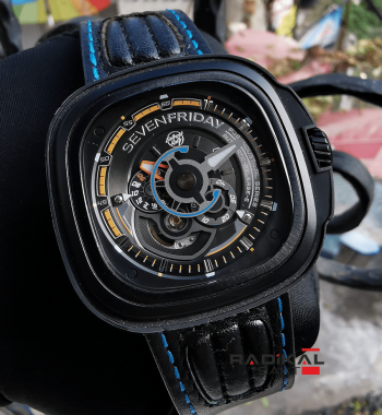 SevenFriday SF-P3B/02 Pasifik-Run Limited Edition Replika Erkek Kol Saati