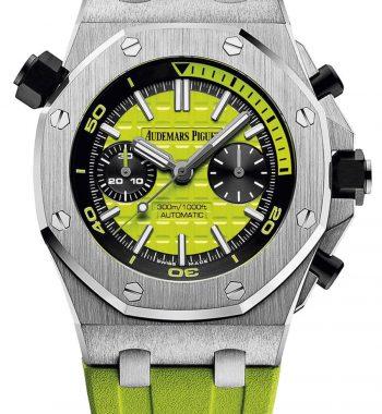 Audemars Piguet Royal Oak Diver Chronograph Yeşil Kadran ETA