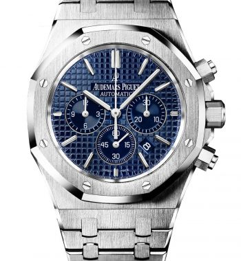 Swiss ETA-Audemars Piguet Royal Oak Chronograph Blue 41mm