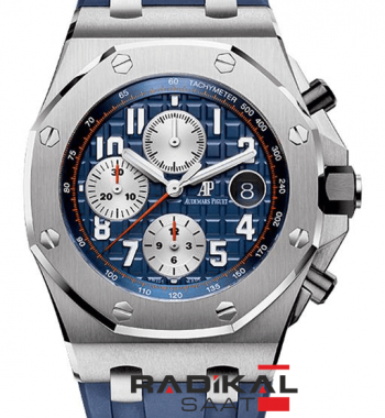 Audemars Piguet Royal Oak Offshore Chronograph Lacivert Tema 2014 ETA