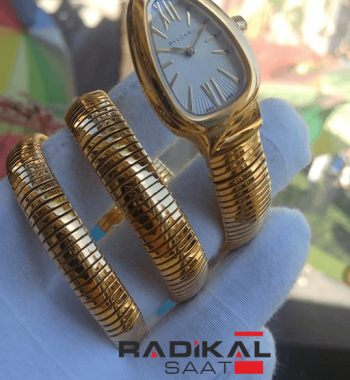 Bvlgari Serpenti 3 Sarmal Gold Bayan Saati