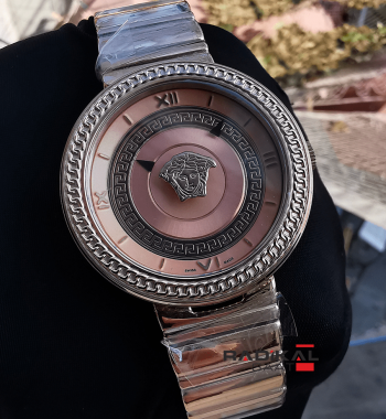 Versace V Metal Rose Kasa Kadran Replika Bayan Kol Saati
